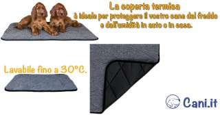 Regala una bella coperta autoriscaldante al tuo cane per l'inverno