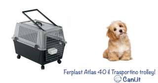 Ferplast Atlas 40 il Trasportino trolley!