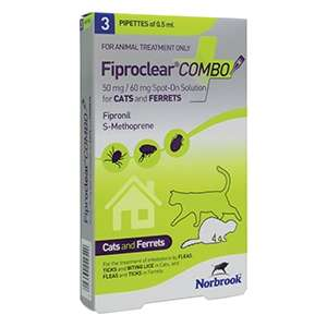Fiproclear Combo in Soluzione Spot-On