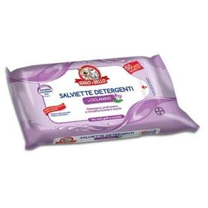 Salviette Detergenti al Ciclamino