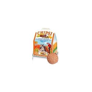 Chipsi mais citrus - lettiera per animali roditori e uccelli 10 lt