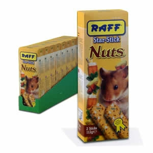 Star Stick Hamster Nuts