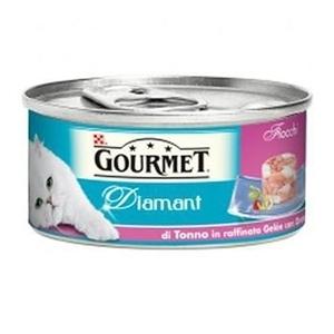 Gourmet Diamant con Fiocchi di Tonno in Raffinata Gelée con Orata