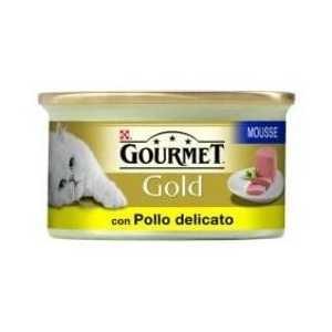 Gourmet Gold Mousse con Pollo Delicato