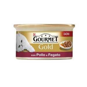 Gourmet Gold Dadini in Salsa con Pollo e Fegato