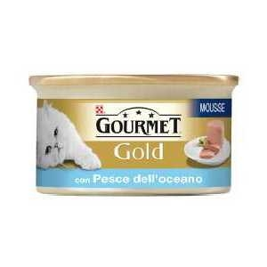 Gourmet Gold Mousse con Pesce dell'Oceano