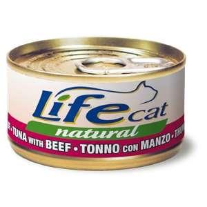 Life Cat Natural Tonnetto con Manzo