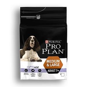 Pro Plan Medium&Large 7+ Adult Optiage con Pollo