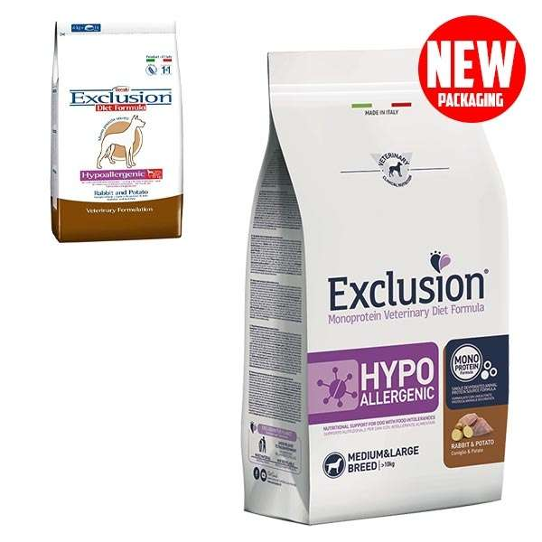Diet Hypoallergenic Medium/Large Breed Coniglio e Patate