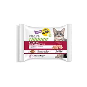 Natural Feline Flowpack Kitten & Young con Pollo Fresco