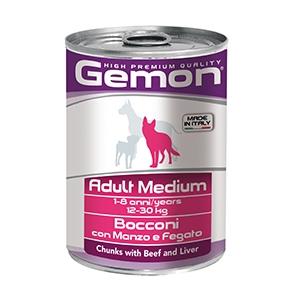 Adult Medium Bocconi con Manzo e Fegato