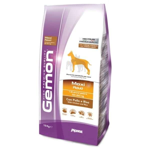 Gemon Dog Maxi Adult con Pollo e Riso