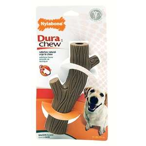 DuraChew Hollow Stick Bacon Wolf