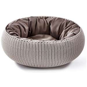Cozy Pet Bed Beige