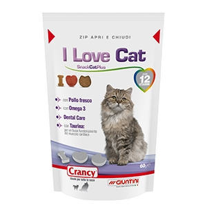 Crancy I Love Cat