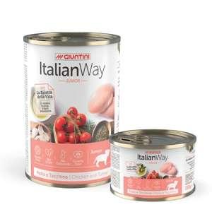 Italian Way Wet Junior Pollo e Tacchino