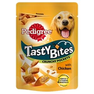 Tasty Bites Crunchy Pockets con Pollo