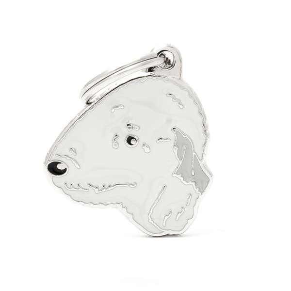 Medaglietta Friends Bedlington Terrier