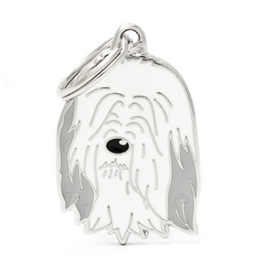 Medaglietta Friends Bearded Collie