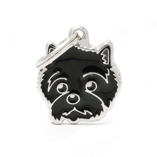 Medaglietta Friends Cairn Terrier