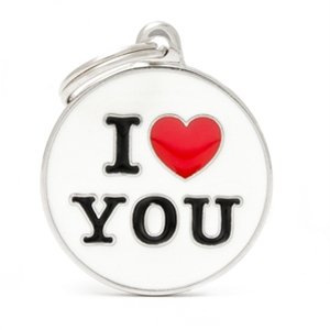 Medaglietta Animali I Love You