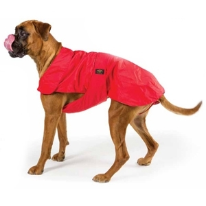 Cappotto Impermeabile con Imbottitura Staccabile Rosso per Boxer