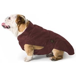 Cappotto Impermeabile con Imbottitura Staccabile Marrone per Bulldog