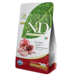 Natural & Delicious Prime Neutered con Pollo e Melograno