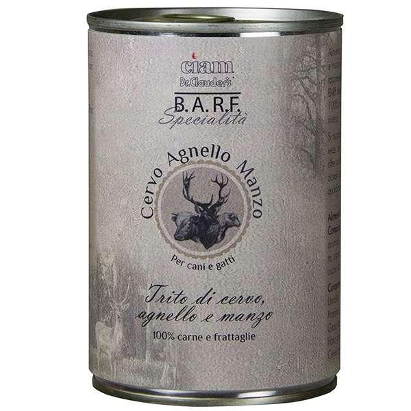 Barf Trito di Cervo, Agnello e Manzo