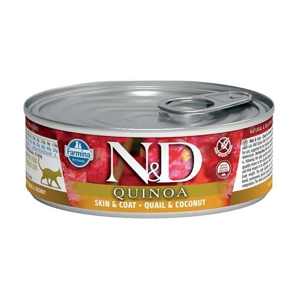 Natural & Delicious Quinoa Skin & Coat Quaglia e Cocco