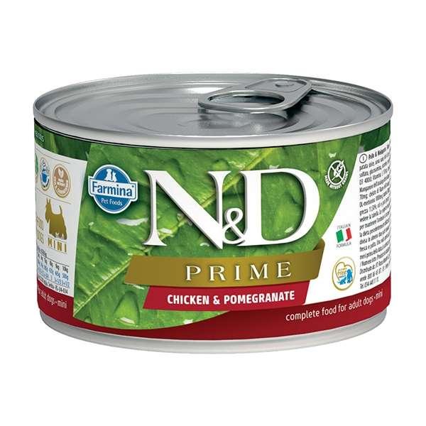 Natural & Delicious Prime MIni con Pollo e Melograno
