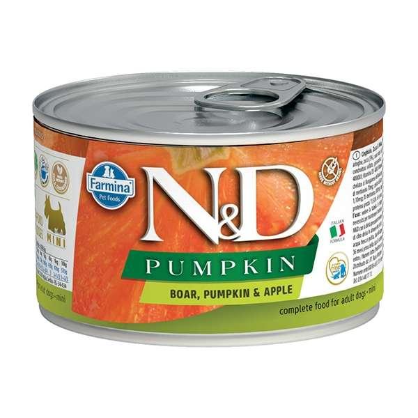 Natural & Delicious Pumpkin Mini con Cinghiale, Zucca e Mela