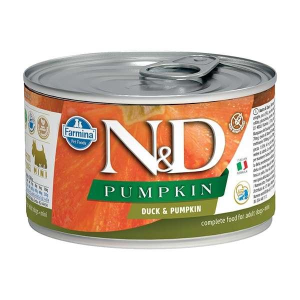 Natural & Delicious Pumpkin Mini con Anatra e Zucca