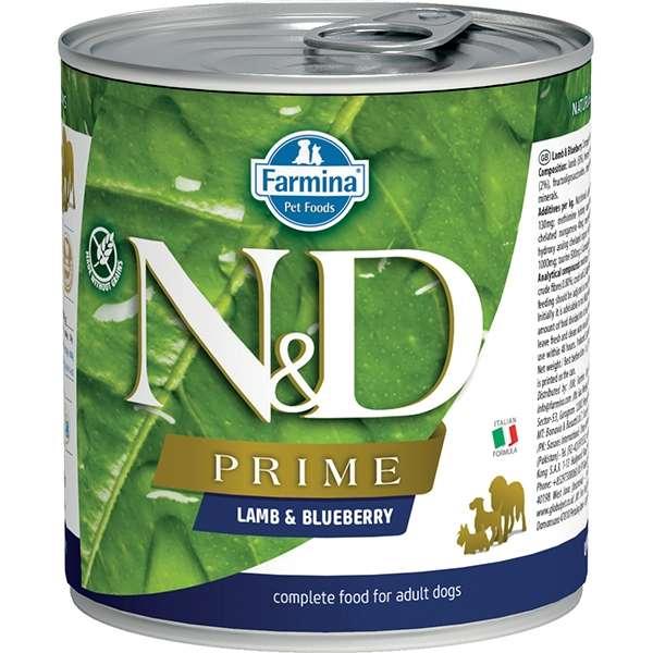 Natural & Delicious Prime con Agnello e Mirtilli