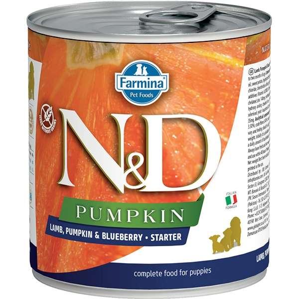 Natural & Delicious Pumpkin Starter con Agnello, Zucca e Mirtillo