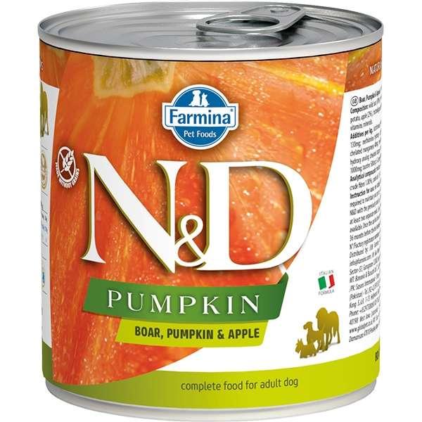 Natural & Delicious Pumpkin con Cinghiale, Zucca e Mela