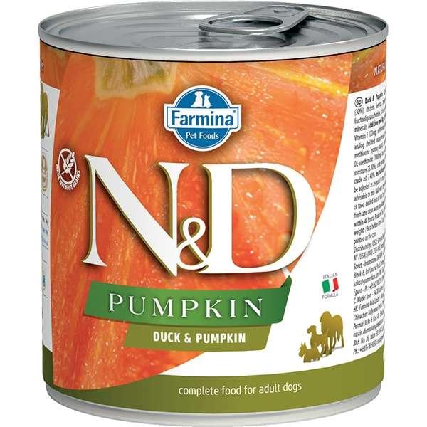 Natural & Delicious Pumpkin con Anatra e Zucca