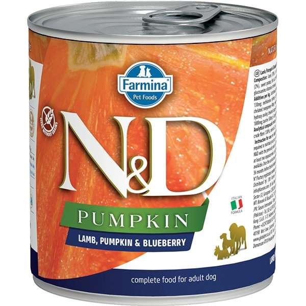Natural & Delicious Pumpkin con Agnello, Zucca e Mirtillo