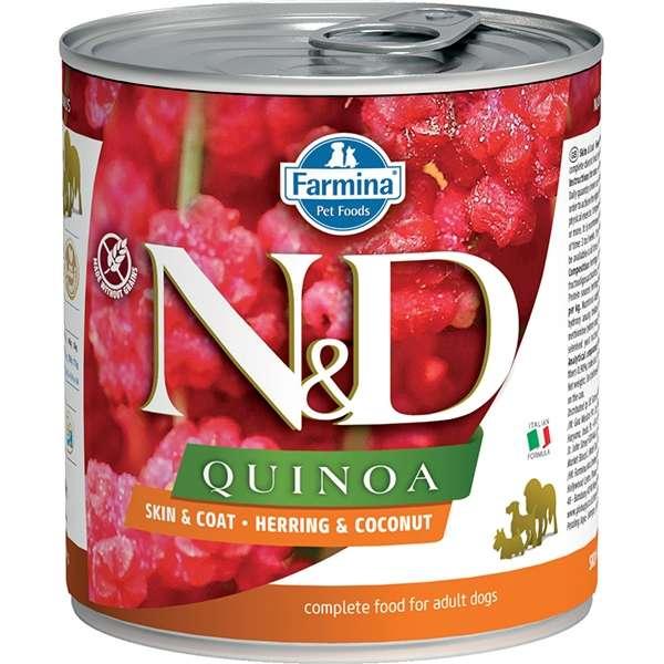 Natural & Delicious Quinoa Skin & Coat con Aringa e Cocco