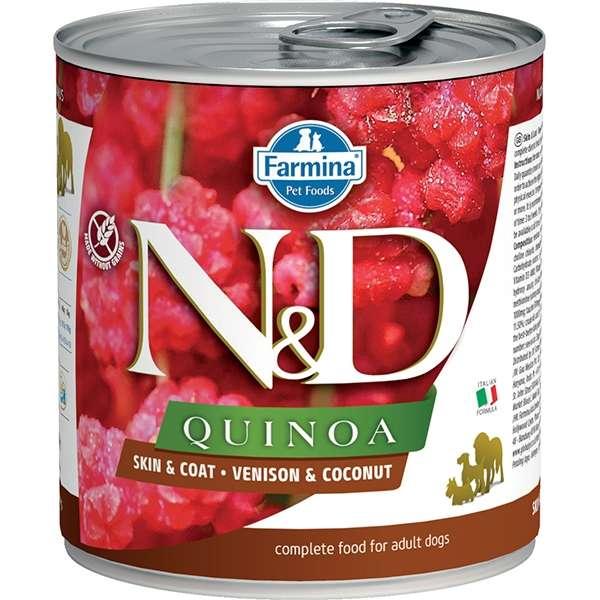 Natural & Delicious Quinoa Skin & Coat Cervo e Cocco
