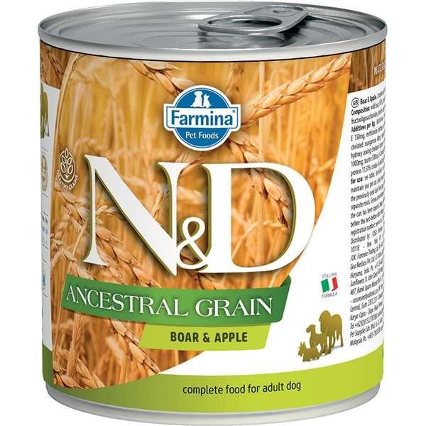 Natural & Delicious Ancestral Grain con Cinghiale e Mela