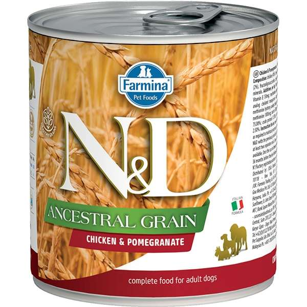 Natural & Delicious Ancestral Grain con Pollo e Melograno