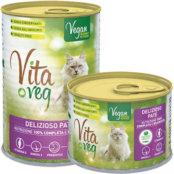 Vita Veg Delizioso Patè Vegano per Gatti