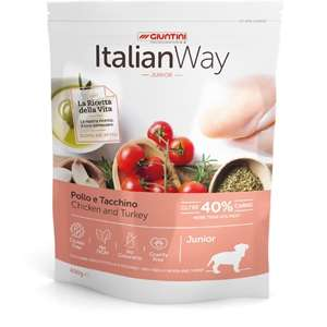 Italian Way Junior Medium & Maxi Pollo e Tacchino
