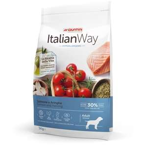 Italian Way Hypoallergenic Medium Adult Salmone e Aringhe