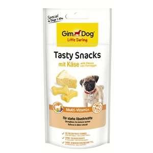 GimDog Tasty Snacks con Formaggio + Multi-Vitamin