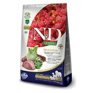 Natural & Delicious Quinoa Digestion Agnello Grain Free