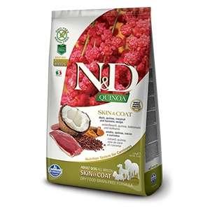 Natural & Delicious Quinoa Skin & Coat Anatra Grain Free