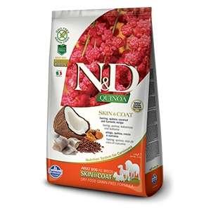 Natural & Delicious Quinoa Skin & Coat Aringa Grain Free