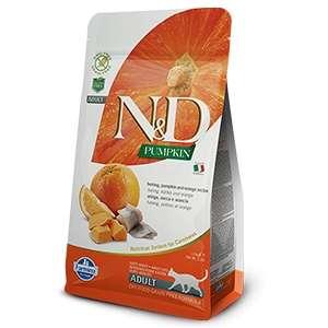 Natural & Delicious Aringa, Zucca & Arancia Grain Free